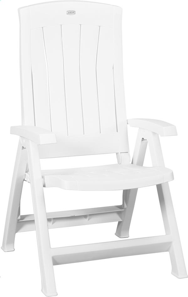 Image pour Jardin chaise de jardin réglable Corfu blanc à partir de ColliShop
