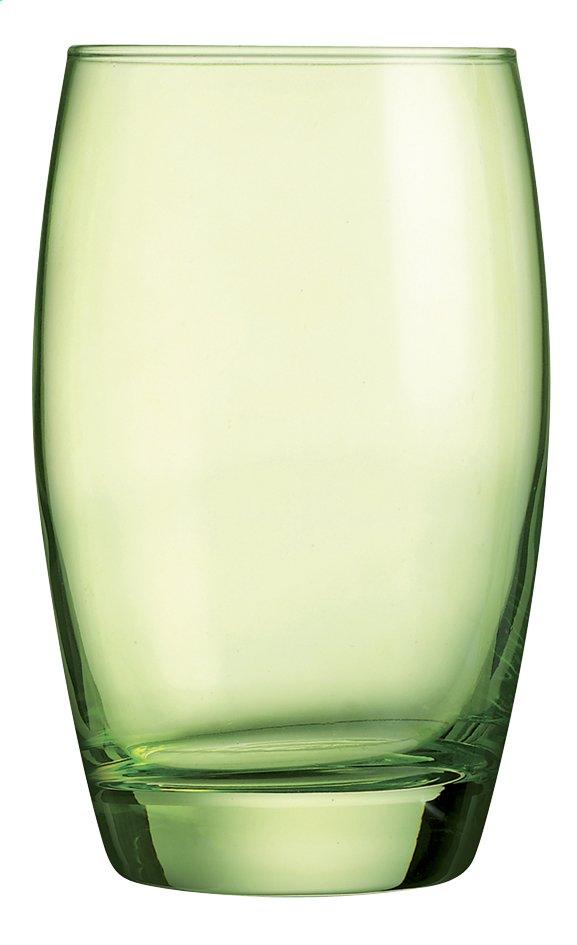 Image pour Arcoroc 6 verres à eau Salto 35 cl vert à partir de ColliShop