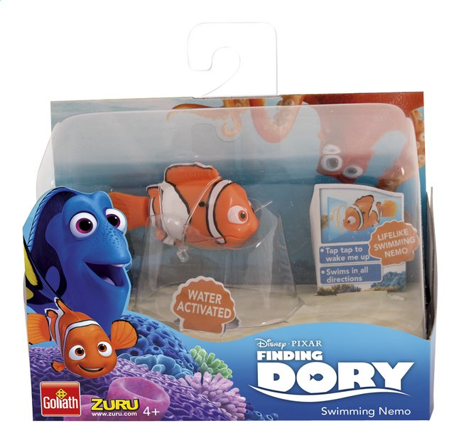 Afbeelding van Goliath interactieve figuur Disney Finding Dory Robo Fish Nemo from ColliShop