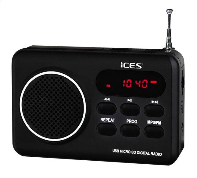 Afbeelding van iCES radio IMPR-112 zwart from ColliShop