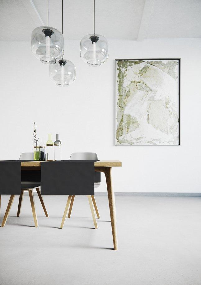 Afbeelding van Mistral Home Tafellaken Uniline antraciet 140 x 240 cm from ColliShop