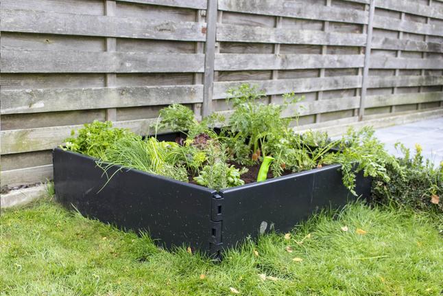 Vierkante Meter Tuin : Acd vierkantemetertuin caréo zwart collishop