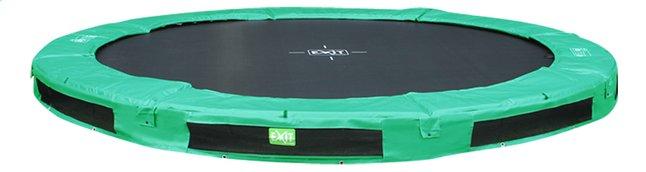 Image pour EXIT trampoline enterré InTerra diamètre 3,66 m vert à partir de ColliShop