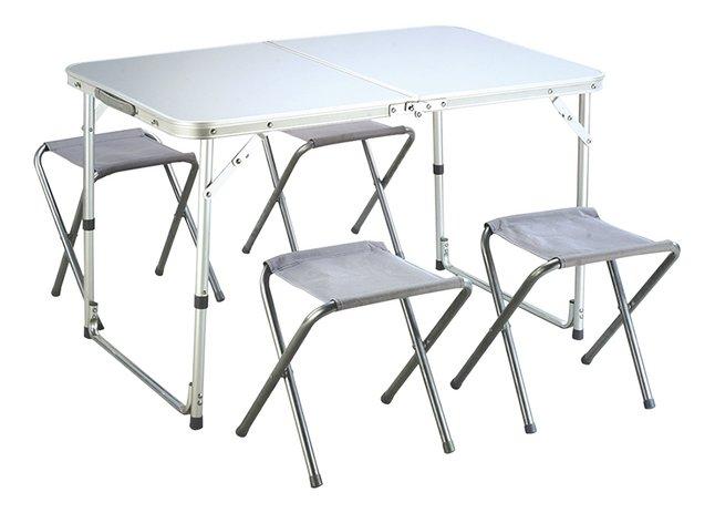 Image pour Cordoba table pliable et 4 tabourets de camping à partir de ColliShop