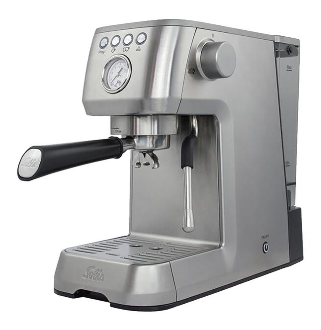 Solis Espressomachine Barista Perfetta Plus 980.07 type 1170 zilver