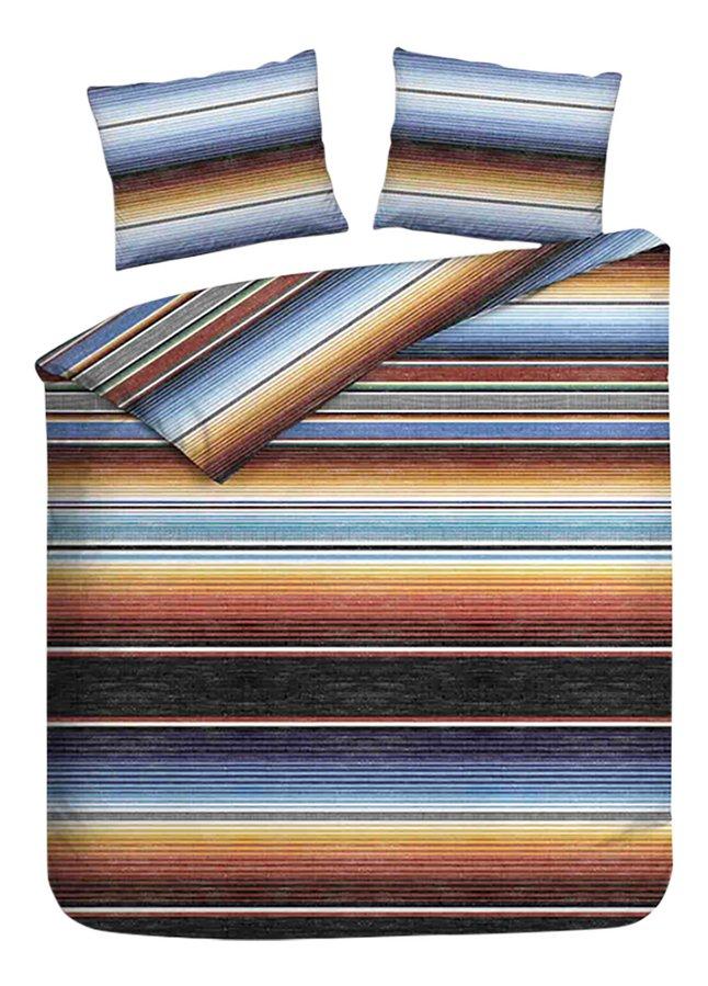 Heckett & Lane Housse de couette Serape multi flanelle 140 x 220 cm