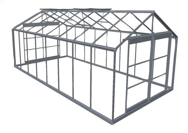 Image pour ACD Serre Royal 38 18,24 m² aluminium à partir de ColliShop