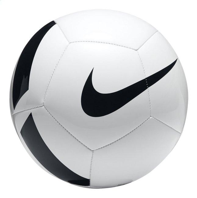 Nike Ballon De Football Pitch Team Taille 5 Blancnoir Collishop