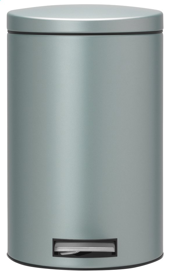 Image pour Brabantia poubelle à pédale 12 l metallic mint à partir de ColliShop