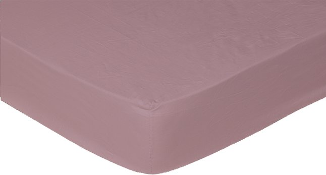 Afbeelding van Sleepnight hoeslaken bordeaux katoenjersey 90/100 x 200 cm from ColliShop