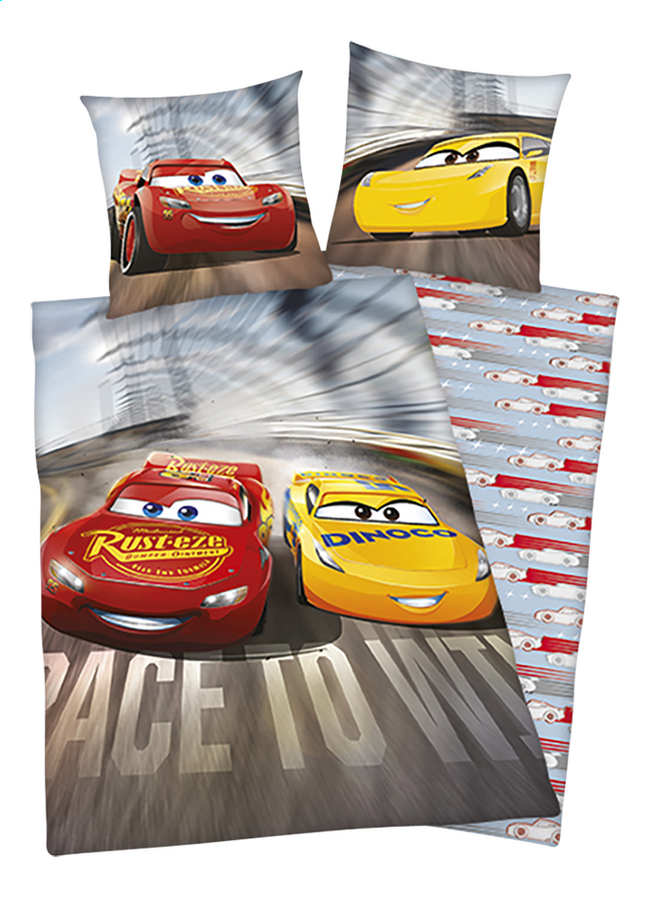 Image pour Housse de couette Disney Cars 3 flanelle 140 x 200 cm à partir de ColliShop