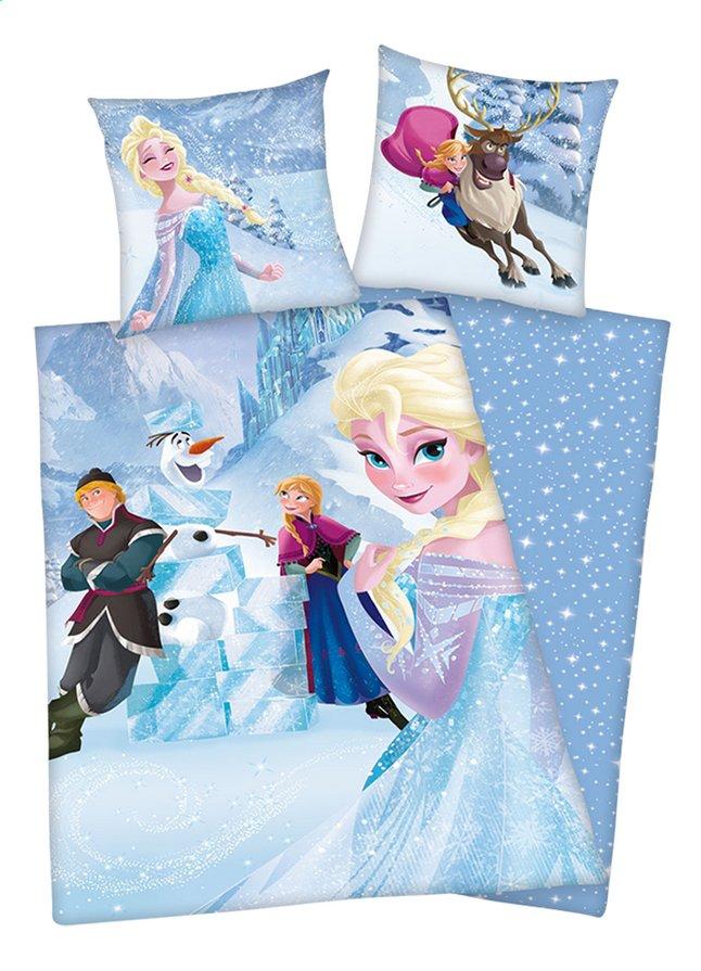 Afbeelding van Dekbedovertrek Disney Frozen Ice flanel B 140 x L 200 cm from ColliShop