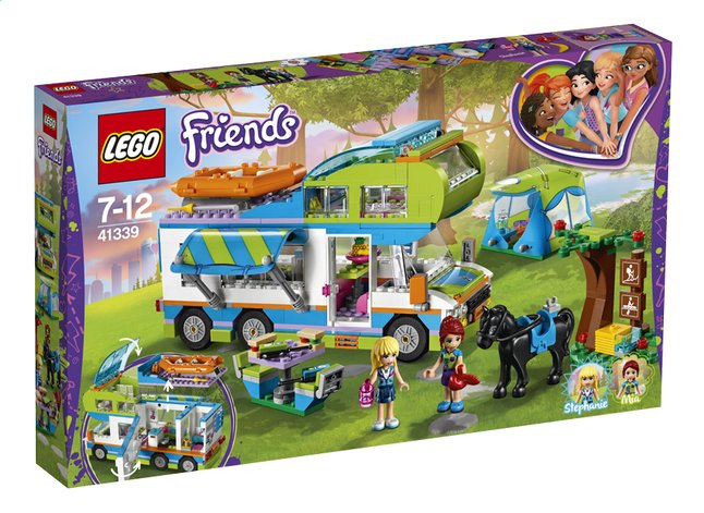 Image pour LEGO Friends 41339 Le camping-car de Mia à partir de ColliShop