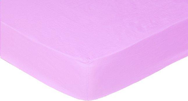 Afbeelding van Sleepnight Hoeslaken hoekhoogte 25 cm donkerroze flanel 160 x 200 cm from ColliShop