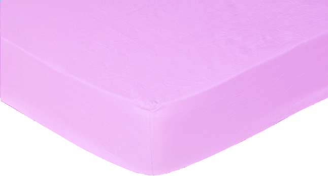 Afbeelding van Sleepnight hoeslaken lila katoenjersey 90/100 x 200 cm from ColliShop