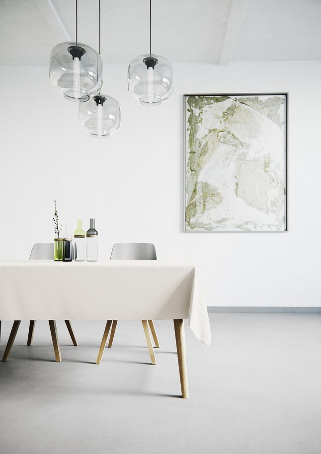 Afbeelding van Mistral Home Tafellaken Uniline ecru from ColliShop