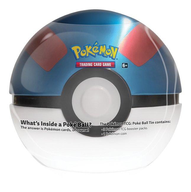 Pokémon Trading Cards Poké Ball Tin - Great Ball ENG