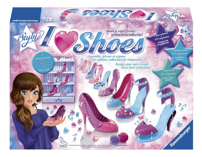 Afbeelding van Ravensburger hobbydoos So Styly I Love Shoes from ColliShop