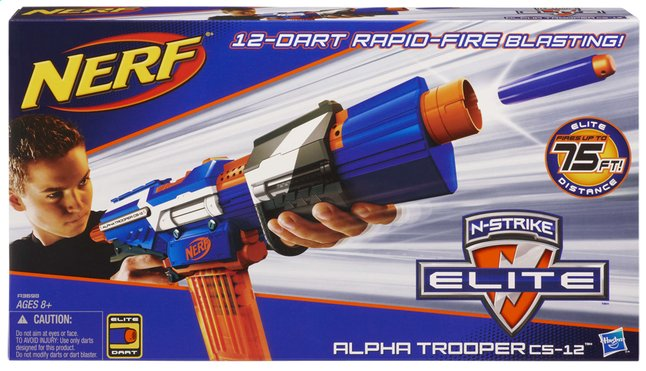 Image pour Nerf fusil Elite Alpha Trooper CS-12 à partir de ColliShop