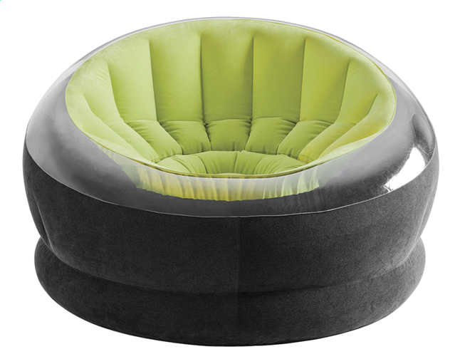 Image pour Intex Fauteuil gonflable Empire noir/lime à partir de ColliShop
