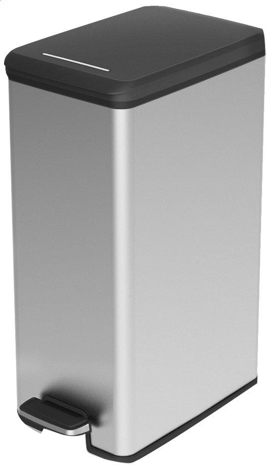 Image pour Curver poubelle à pédale 40 l argenté/noir à partir de ColliShop