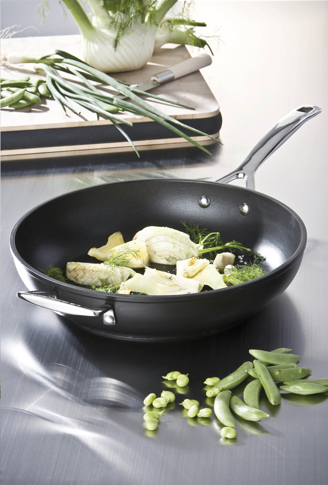 Image pour Le Creuset wok Les Forgées 30 cm à partir de ColliShop