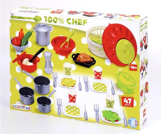 Afbeelding van Écoiffier keukenaccessoires 100% chef from ColliShop