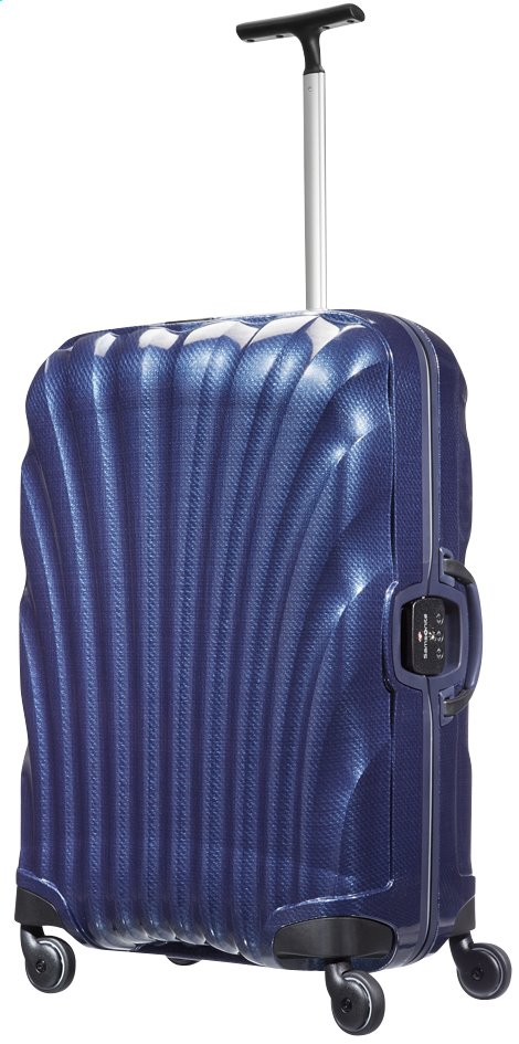 Afbeelding van Samsonite Harde reistrolley Lite-Locked Spinner navy 69 cm from ColliShop