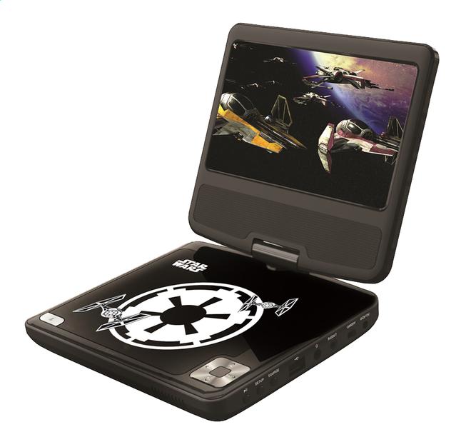 Image pour Lexibook lecteur DVD portable Star Wars DVDP6SW 7'' à partir de ColliShop