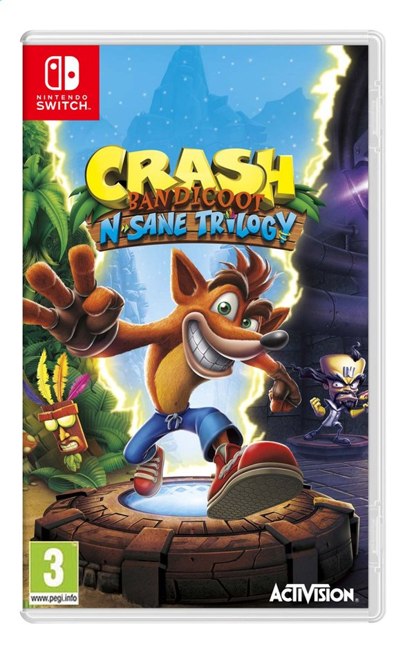 Afbeelding van Nintendo Switch Crash Bandicoot N'sane Trilogy ENG from ColliShop