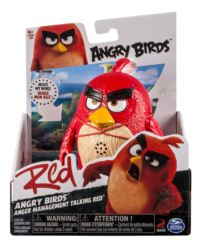 Afbeelding van Figuur Angry Birds Anger Management Talking Red from ColliShop
