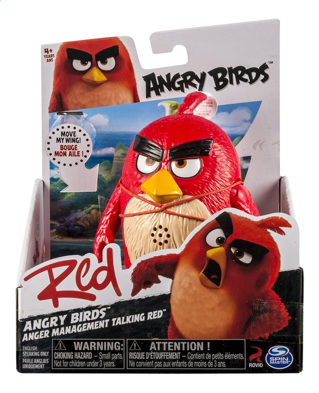 Image pour Figurine Angry Birds Management Talking Red à partir de ColliShop