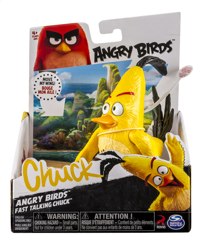 Afbeelding van Figuur Angry Birds Fast Talking Chuck from ColliShop