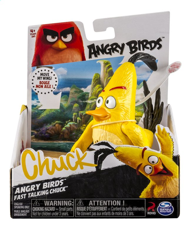 Image pour Figurine Angry Birds Fast Talking Chuck à partir de ColliShop