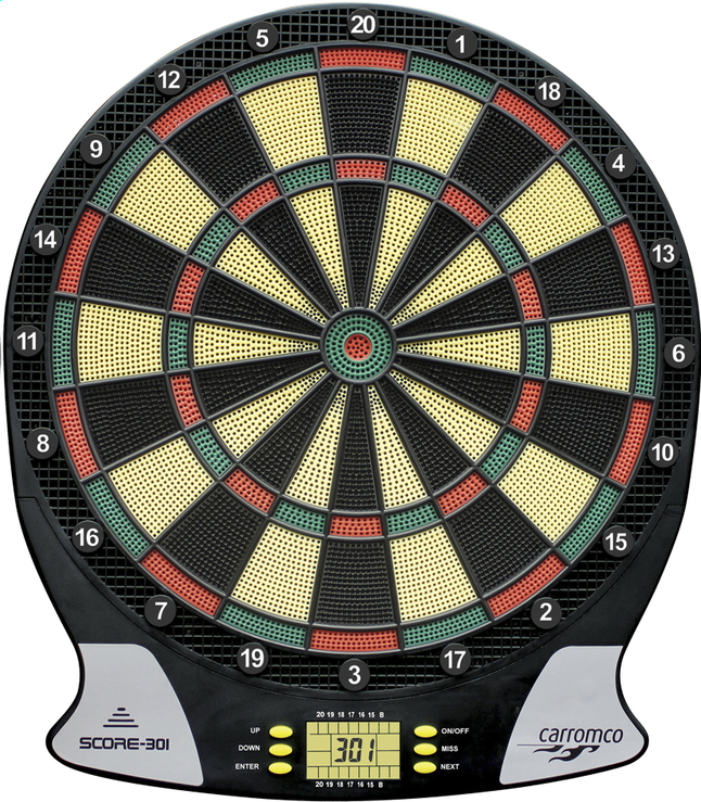 Afbeelding van Carromco dartsbord Score 301 from ColliShop
