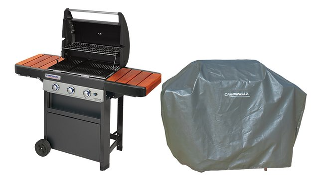Campingaz Gasbarbecue set BBQ 3 Series Classic WL + hoes
