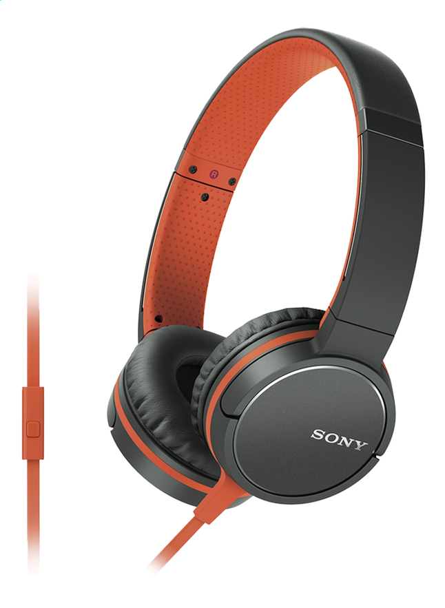Afbeelding van Sony hoofdtelefoon MDR-ZX660 oranje from ColliShop