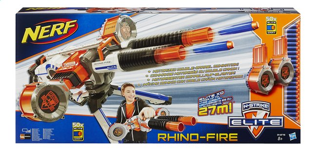 Afbeelding van Nerf blaster Elite N-Strike Rhino-Fire from ColliShop