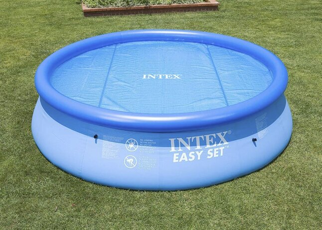 Intex b che thermique d 39 t diam tre 3 05 m collishop for Bache piscine intex 3 05