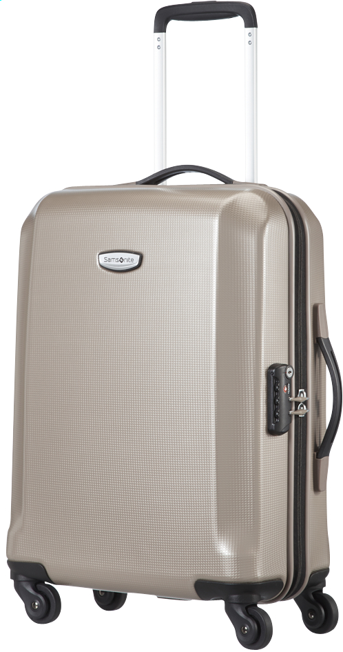 Afbeelding van Samsonite Harde reistrolley Skydro Spinner ivory gold from ColliShop