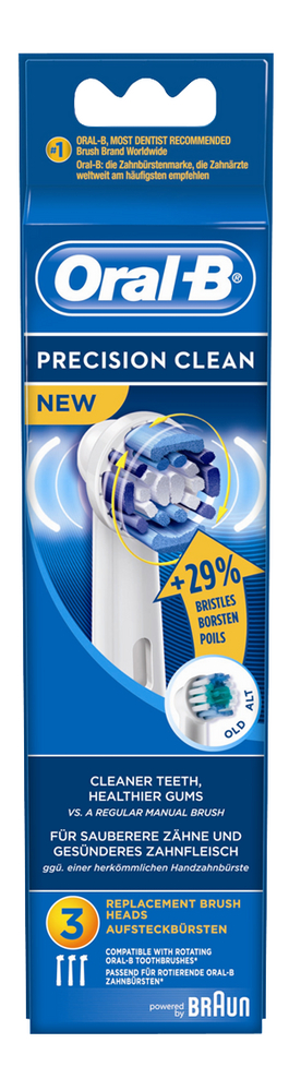 Afbeelding van Oral-B 3 vervangborsteltjes Precision Clean from ColliShop