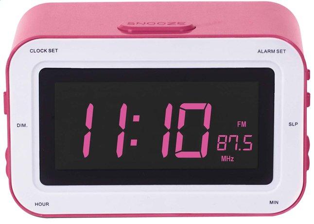 Image pour Bigben radio-réveil RR30 Sticker rose à partir de ColliShop