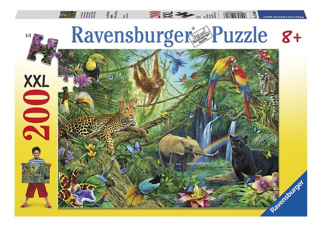 Afbeelding van Ravensburger puzzel Dieren in de jungle from ColliShop