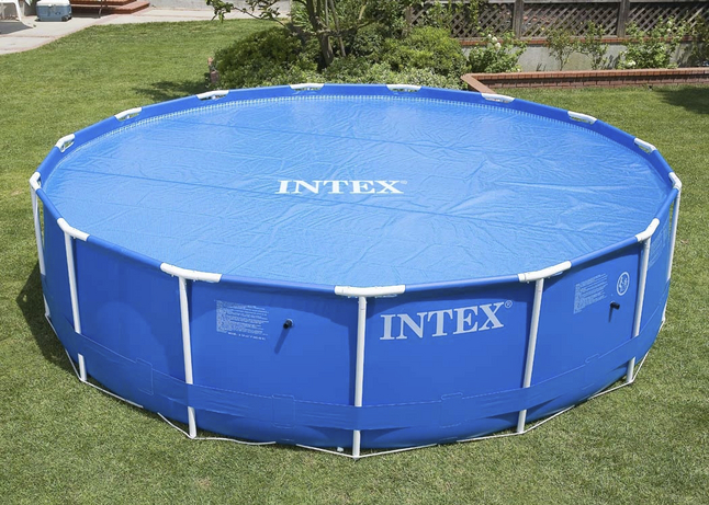 Afbeelding van Intex thermisch zomerafdekzeil diameter 4,57 m from ColliShop
