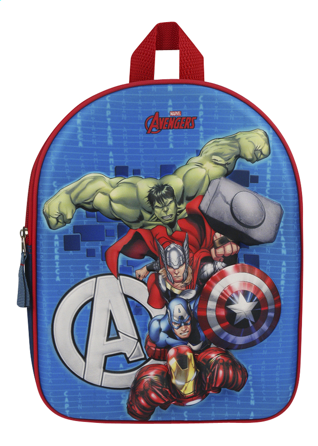 Image pour Sac à dos Avengers Fight the Foes 3D à partir de ColliShop