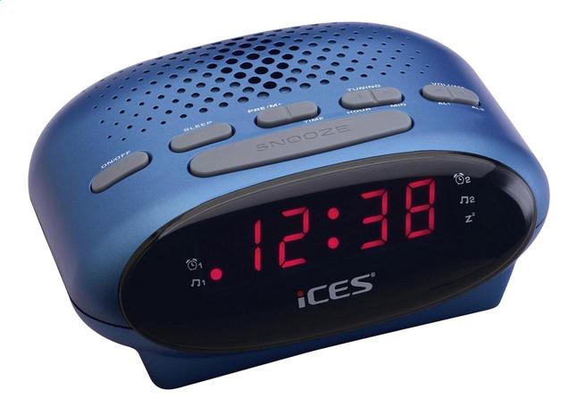 Afbeelding van iCES wekkerradio ICR-210 blauw from ColliShop