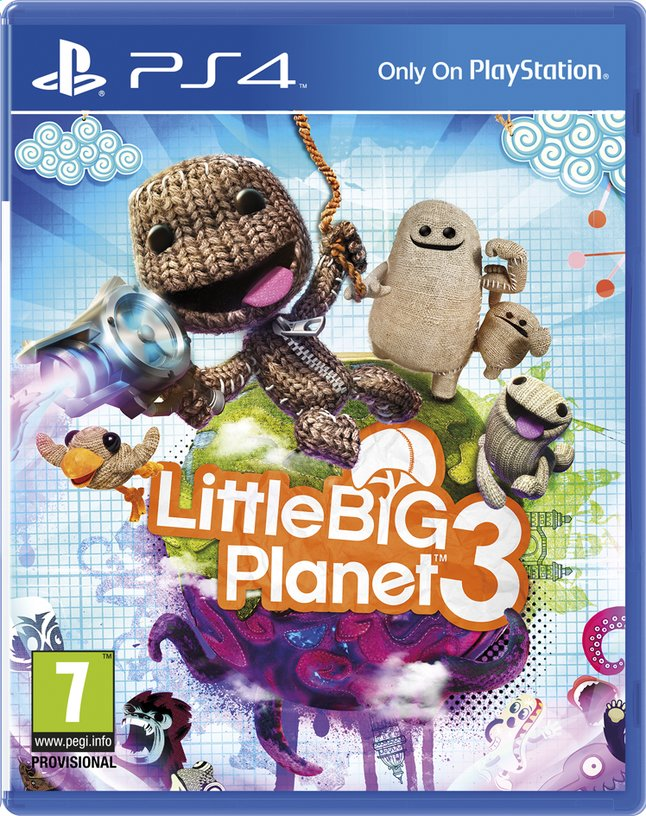 Afbeelding van PS4 LittleBigPlanet 3 ENG/FR from ColliShop