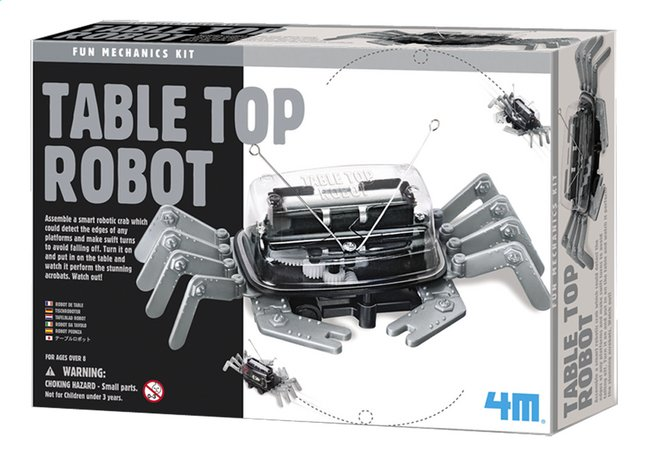 Afbeelding van 4M Fun Mechanics Tafelrobot from ColliShop