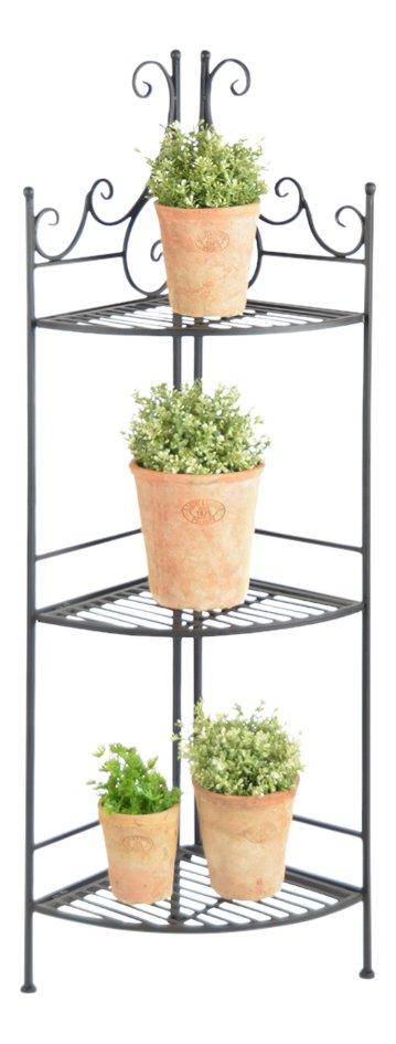 Image pour Esschert étagère à plantes noir à partir de ColliShop