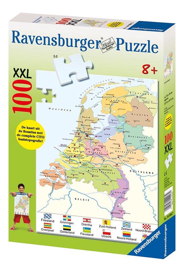 Afbeelding van Ravensburger puzzel Landkaart Nederland from ColliShop